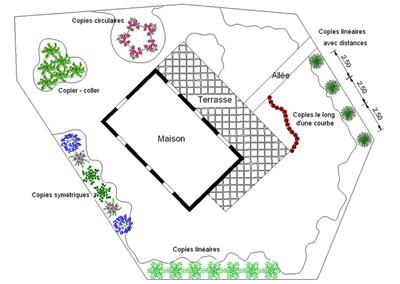 Jardicad logiciel de plans pour paysagistes et collectivit s for Logiciel amenagement paysager